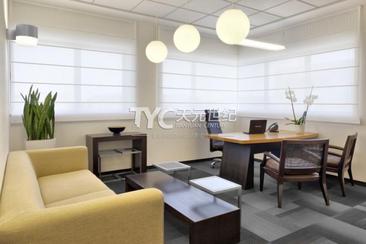 国外现代简约standardtextile办公室装修设计
