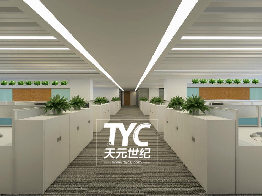 信和财富办公室设计