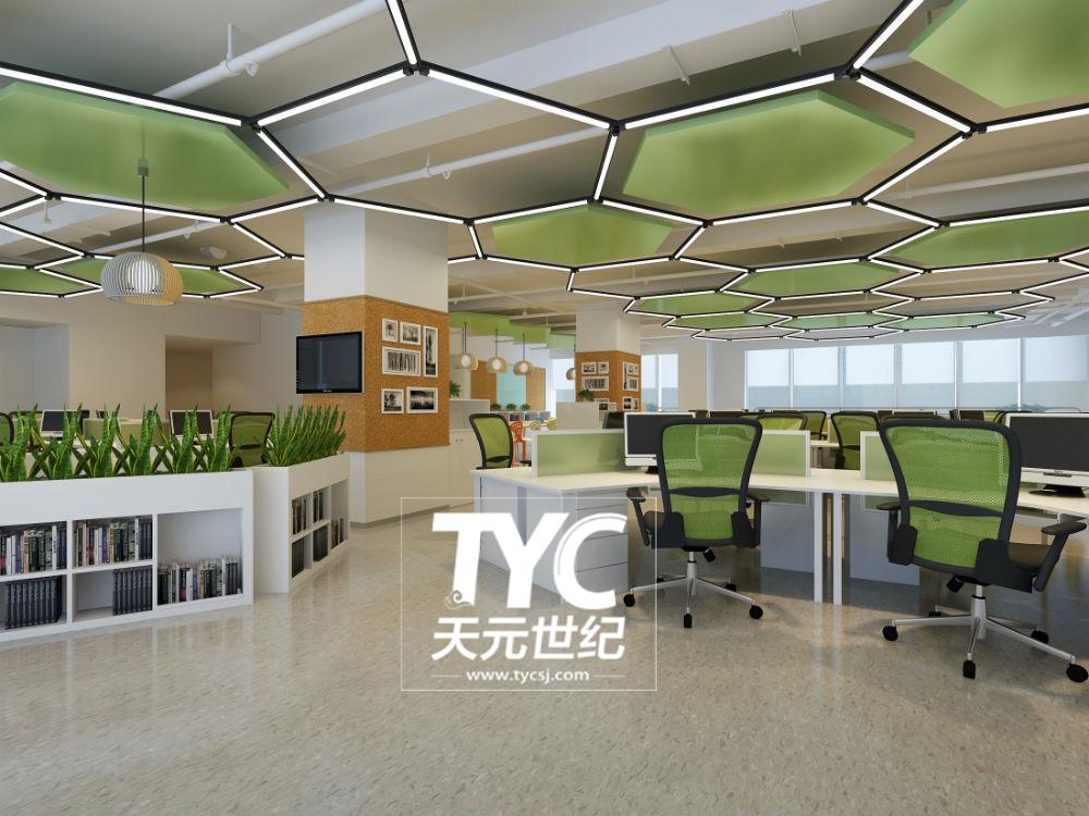 现代简约风办公室设计